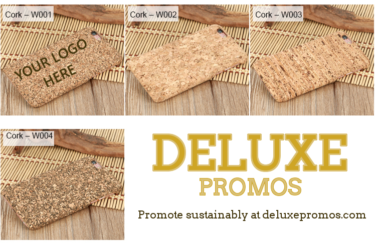 cork smartphone case for promotion styles