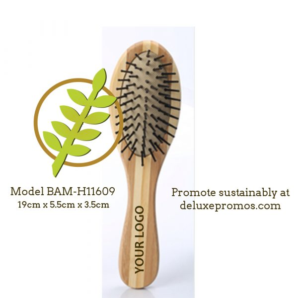 bamboo hair brush for sustainable promotion