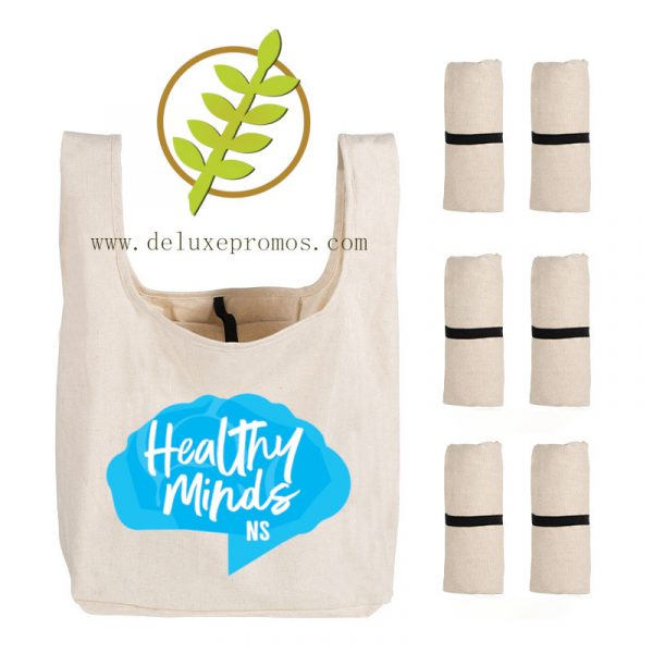 custom cotton shopping bag with logo