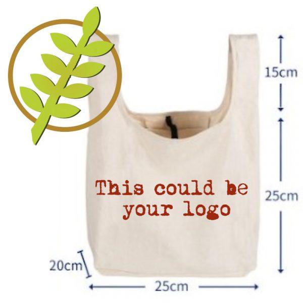 custom reusable shopping bag